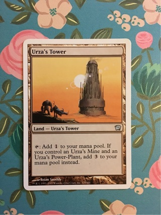 Magic the Gathering MTG card Urza's Tower 9th edition