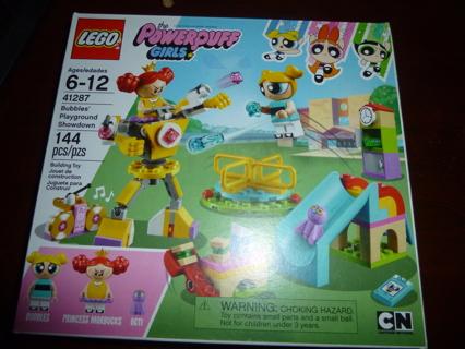 New LEGO The Powerpuff Girls Bubbles' Playground Showdown 41287 Building Kit (144 Pieces)