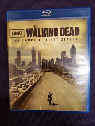 AMC The Walking Dead Blu-ray The Complete First Season 2011 2 Disc