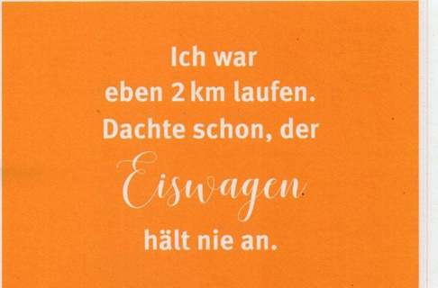 funny ad postcard * german * 3