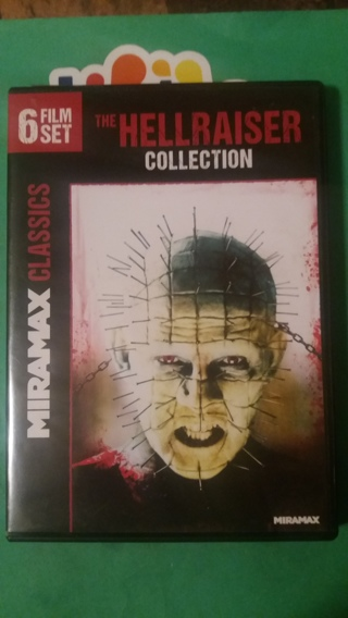 dvd the hellraiser collection 6 film set  free shipping