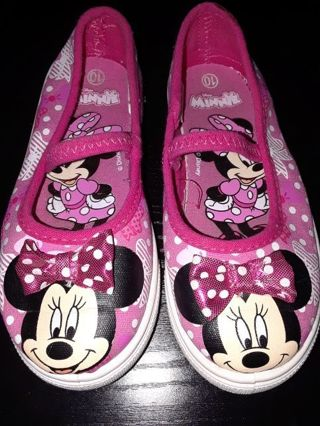Girls Minnie Mouse Shoes size 10