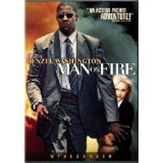 Man on Fire DVD widescreen