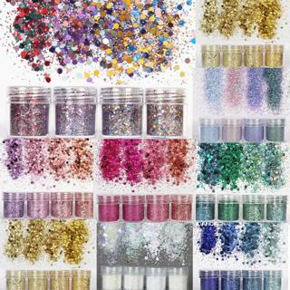 Mixed Flake Chunky Glitter Pots Nail Face Eye Shadow Tattoo Art Body Dance Paint