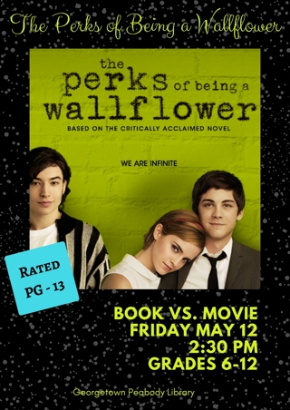 """""""The Perks of a Wild Flower"""" HDX - """"I Tunes redeem only"""" Digital Movie Code"""