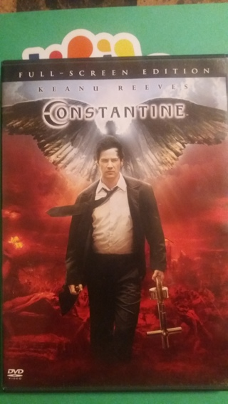 dvd   constantine   free shipping