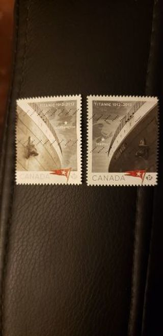 Titanic stamps. Used