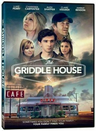 2018 The Griddle House Movie DVD Luke Perry Sometimes Your Family Finds You-New & Sealed