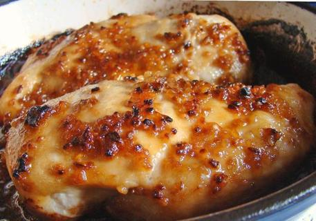 cheesy garlic baked chicken recipe