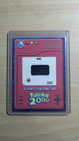 Free: Pokemon Promo Card (Authentic Film Frame Card) Pokemon the ...
