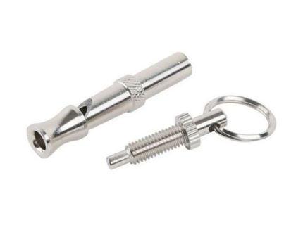 1 NEW KEYCHAIN Dog Whistle Key Ring Accessory