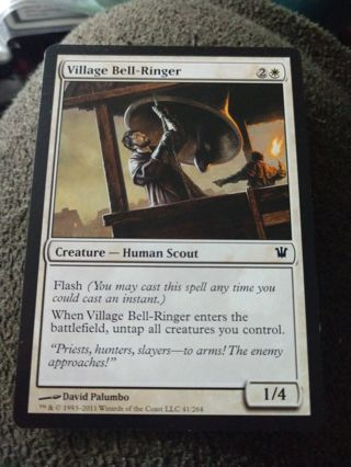 MTG Village Bell-Ringer