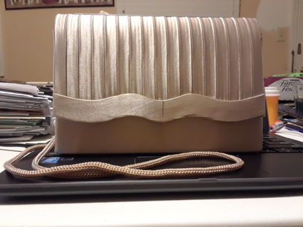 Ladies Tan Purse
