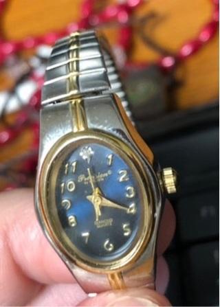 Precision by Gruen Diamond Quartz Watch