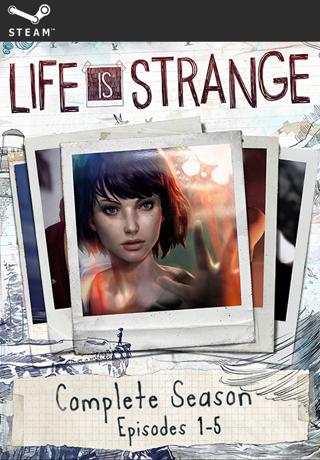 Life is Strange Complete Season (Episodes 1-5)  STEAM KEY