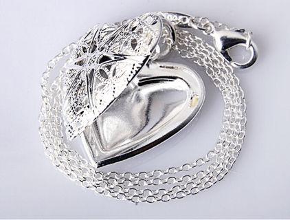 ☘️ Romantic ☘️ Love heart Silver valentine pendant