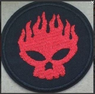NEW The Offspring IRON ON PATCH Band Applique Clothing Accessories Embroidered Badge