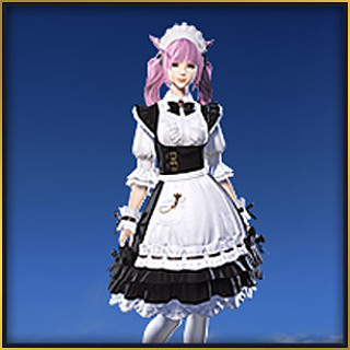 Free: Final Fantasy XIV Maid Attire - Video Game Prepaid Cards