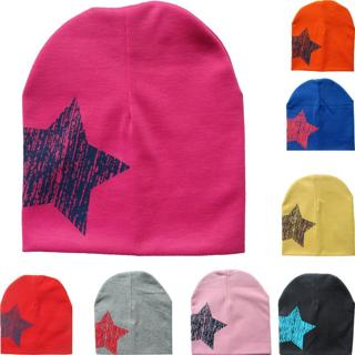 Spring Infant Hat Autumn Caps Colorful Print Star Baby Beanie For Boys Girls Cotton Knit Hat Child