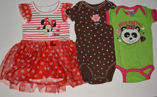 Baby Girls Summer Clothes Size 6-9 Months