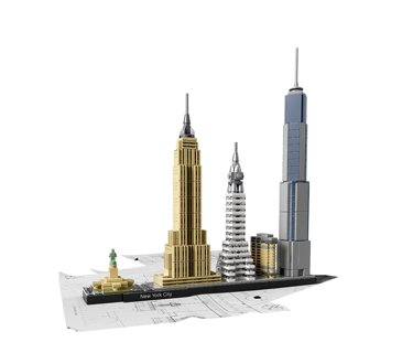 New LEGO Architecture New York City 21028
