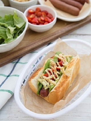 ☆(New) *Dog Haus* Sooo Cali Hot Dog Recipe ☆