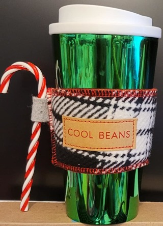 COFFEE COZY SMALL, MEDIUM, LARGE, CUPS*GREAT GIFT*BRAND NEW*