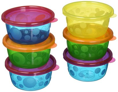 New~ Take & Toss Toddler Bowls with Lids - 8oz, 6 pack