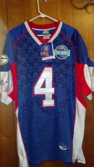 finest selection 239f8 ca513 Free: Brett Favre 2008 Reebok Pro Bowl Jersey Sz 54 NWT ...