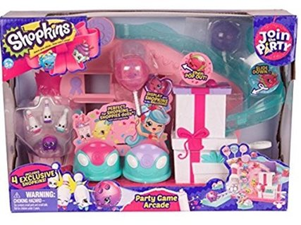 Shopkins Join the Party - Party Game Arcade - NEW in Package!