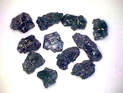 1ct Black Diamonds 11pc.