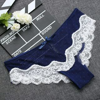 1PCS Soft Comfortable Breathable Summer Low-Rise Knickers Hollow Briefs Ultra Thin Underwear