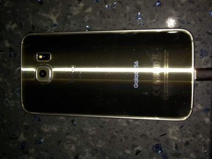 Samsung Galaxy S6 platinum gold 32 g Verizon wireless