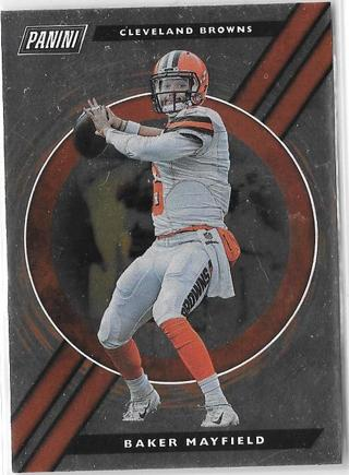 2019 Panini Player of the Day - Baker Mayfield
