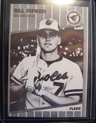 Free Rare 1989 Fleer 616 Bill Ripken F Face Card But