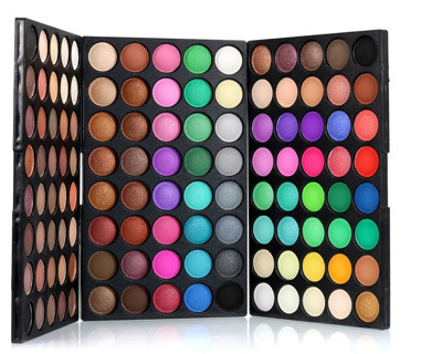 120 Colors Gliltter Eyeshadow Palette Matte EyeShadow Pallete Shimmer Shine Nude MakeUp