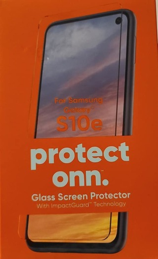 SAMSUNG GALAXY S10e GLASS SCREEN PROTECTOR WITH IMPACT GUARD