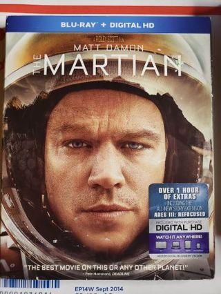 The Martian Blue-ray movie