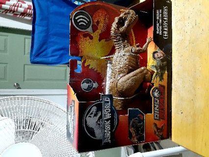 Jurassic park dinosaur figure