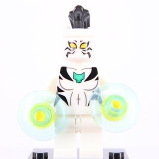 New White Tiger Minifigure Building Toy Custom Lego