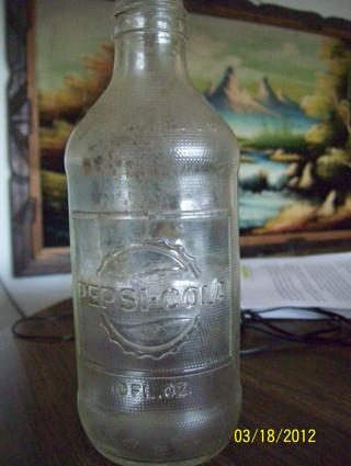 Old Pepsi Glass Bottles 53