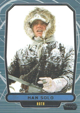 Star Wars Galactic Files Topps 2013 Collectible Card Han Solo #482