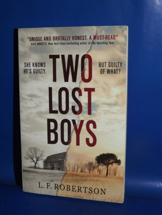 Two Lost Boys Book By L.F. Robertson First Edition 2017 Paperback