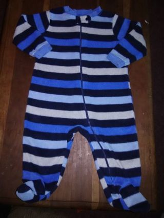 NWOT Infant Boys Footed Sleeper
