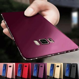 Luxury Diamond Rhinestone Cover Case For Samsung Galaxy S9 A8 A6 Plus 2018 J7 J5