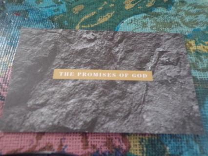 BIBLE CARD