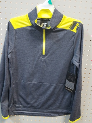 New W/Tags! Boys Russell Performance Shirt-Size L-10-12