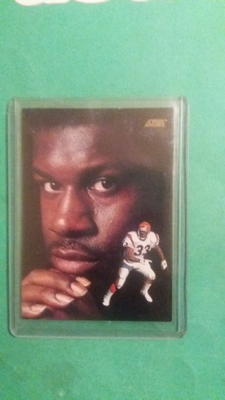 david fulcher football card free shipping