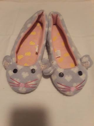 *PO* Mouse slippers from Kohls