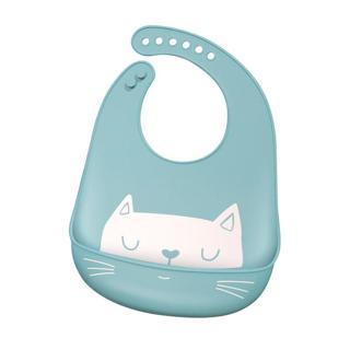 Waterproof Baby Silicone Bibs Burp Cloths  Toddler Kids Adjustable Feeding Apron Saliva Bandana